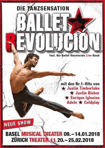 09.01.–25.02.18. Ballet Revolución ZH und BS