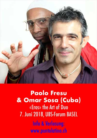 07.06.18. Paulo Fresu & Omar Sosa (Cuba), BS