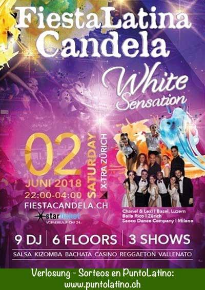 02.06.18. Fiesta Latina Candela, White, ZH