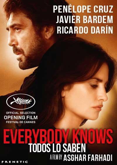 09.05.18. CINE Todos lo saben / Everybody Knows (España), Romandie