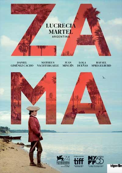 01.06.18. CINE: Zama (Argentina), Lucrecia Martel