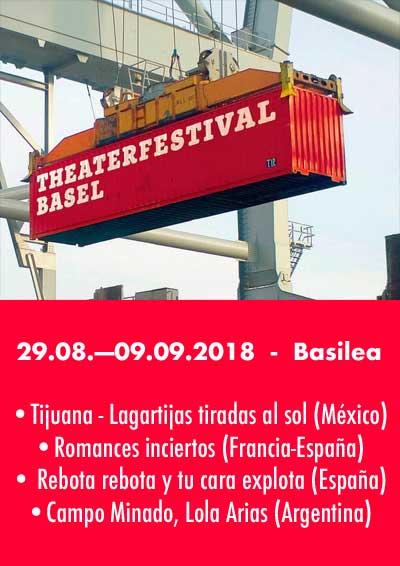 29.08.—09.09.18. Theaterfestival BASEL